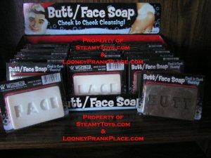Butt Face Soap fun sex gag gift novelty toy bath shower