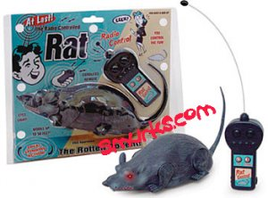 Radio Controlled RC Rat Scary Rodent Mouse moving real