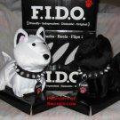 F.I.D.O. Flip Over Dog Toy Pet Walks Barks FIDO NEW