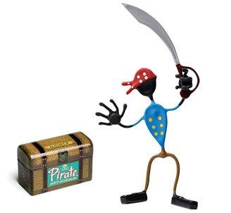 Swab Pirate Bender Action Figure Benders Magnet Toy