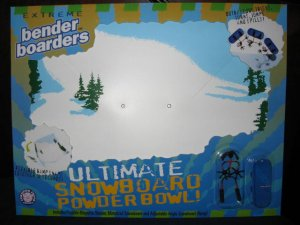 Snowboard Extreme Bender Playset Boarders Benders Toy
