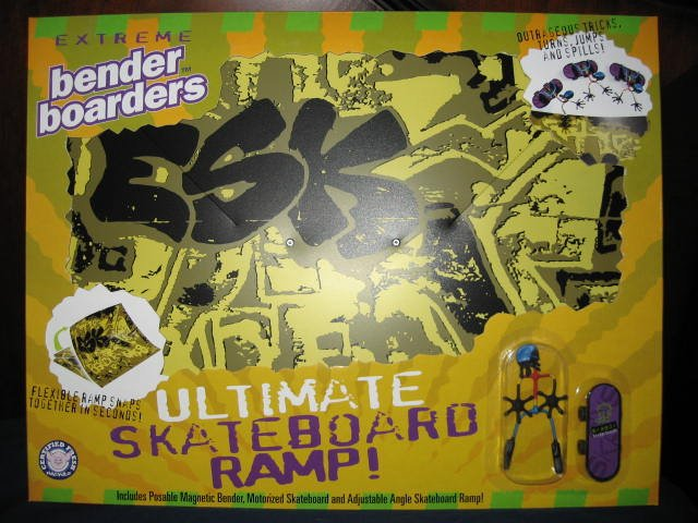 Skateboard Extreme Bender Playset Boarders Benders NEW