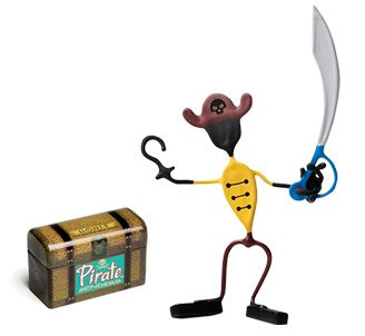 Hook Pirate Bender Action Figure Benders Magnet Toy