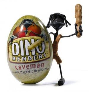 Caveman Dino Bender Dinosaur Action Figure Benders Toy