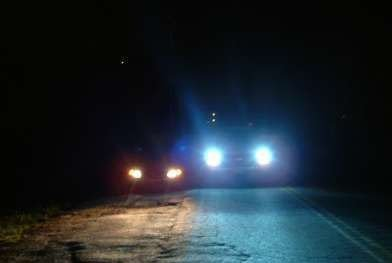 Blue H11 Xenon Krypton Gas Headlights clear white light
