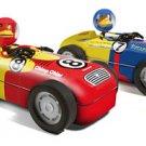 Blue #7 Hot Rod Monkey Bender Toy Tin Race Slot Cars