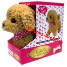 Lulu Labradoodle cute dog toy walks barks play fun NEW
