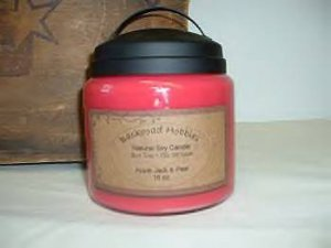 16 oz Soy Candle with Black Handle
