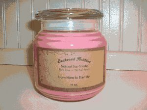 16 oz Apothecary Jar Candle