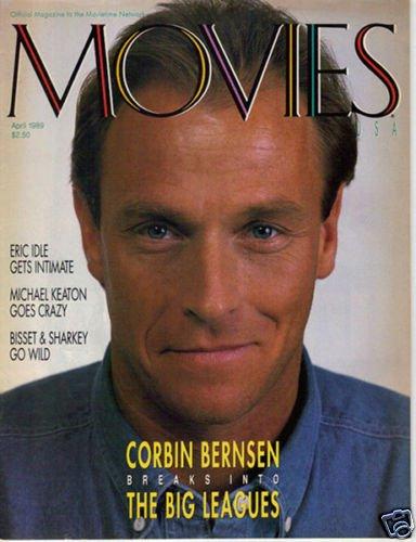 Corbin Bernsen Eric Idle Rare Movies USA April 1989