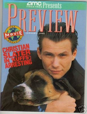 Rare Preview Mag Christian Slater January 1992