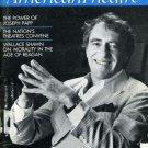 American Theatre Sept. 1986 Joseph Papp, Don DeLillo