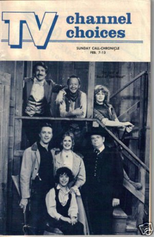Best of the West Local TV Guide 2/82 Pamela Bellwood, Peter Cook