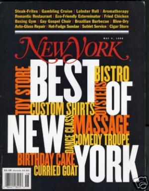 New York Magazine 5/4/98 Best of New York
