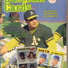 February 1987 Baseball Cards Jose Canseco Joe Garagiola