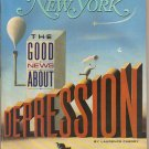 New York Magazine 6/2/86 Depression, Paul Shaffer Late Night, Scott Spencer
