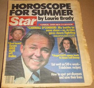 Star 5/31/1983 Carroll O'Connor Jerry Lewis, Joan Collins, Barbara Bel Geddes