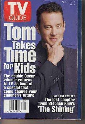 TV Guide 4/26/1997 TV Guide Tom Hanks Sharon Lawrence Forrest Gump The Shining