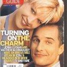 TV Guide 3/13/99 EDtv Jenna Elfman Matthew McConaughey Bruno Campos Roller Derby