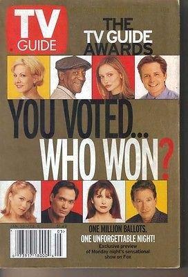 TV Guide 1/30/1999 Awards Super Bowl Preview Amy Jo Johnson Alyson Hannigan