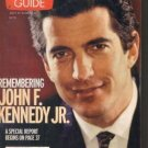 John F Kennedy JFK Jr. TV Guide 7/31/1999 Buffy the Vampire Slayer Seth Green