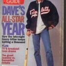 TV Guide 8/27/1994 TV Guide David Letterman Claire Danes Monday Night Football
