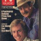 TV Guide 8/4/1984 Simon & Simon Jameson Parker Gerald McRaney Olympics