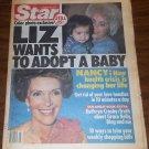 Star 1/18/1983 Nancy Reagan Liz Taylor Kathryn Crosby Groucho Marx Knots Landing
