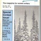 Housewife-Writer's Forum November/December 1991 Women Contest Winners Writing
