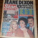 Star 12/28/1982 Jeane Dixon Year in Review Liz Taylor Burt Reynolds Lee Majors