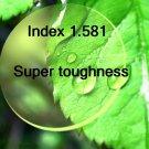 Index 1.581 Super toughness resin lens hard multi coated Aspheric