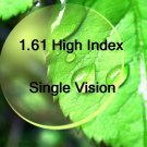 1.61 High Index Single Vision resin lens Aspheric (UV400)