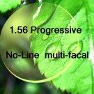 1.56 Mid-Index Progressive resin lens Hard Multi Coated