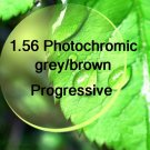 1.56 Mid-Index Photochromic and Progressive resin lens Hard Multi Coated