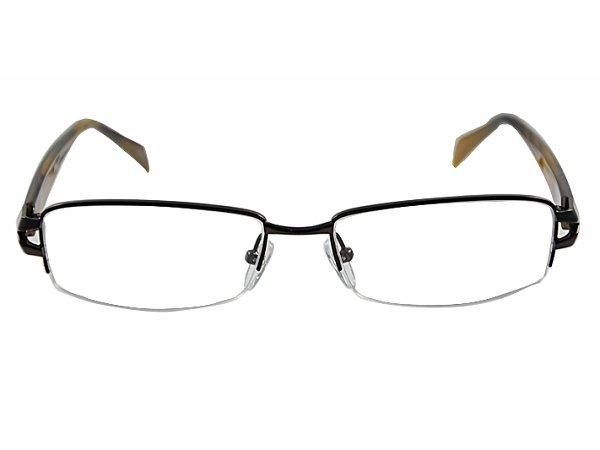 #10 half rim eyeglasses frames men eyewear 3 colours