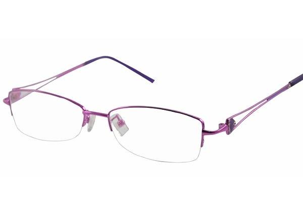 #11 half rim eyeglasses frames female eyewear 3 colours
