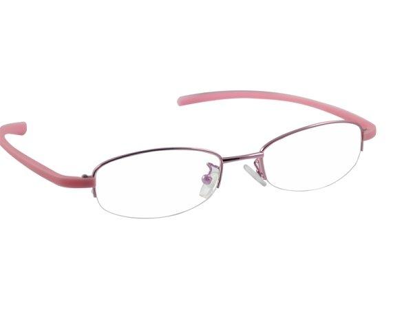 #16  half rim eyeglasses frames female eyewear 3 colours