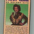 Patsy Cline - 20 Golden Hits 1987 CASSETTE