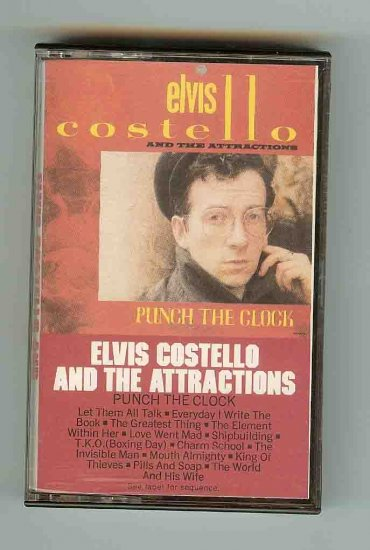 Elvis Costello / The Attractions - Punch The Clock CASS