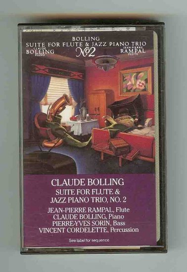 Claude Bolling Suite for Flute + Jazz Piano Trio (Casse