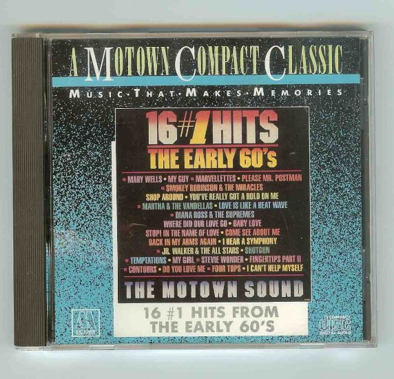 Motwon Hits Early and Late 60's (2 CDs)