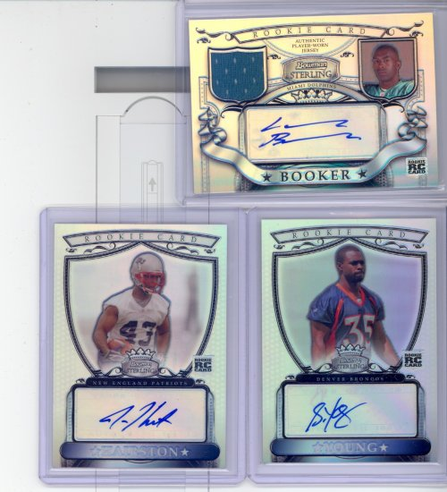 2007 BOWMAN STERLING AUTO REFRACTOR JUSTISE HAIRSTON /199