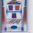 2007 Leaf Certified Adrian Peterson Auto Triple Jersey