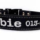 Personalized Outdoor one inch Fabric Dog Collar by Ruggit Collars