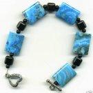 Larimar Blue Crazy Lace Bracelet