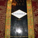 Pandora: New Tales of the Vampires by Anne Rice