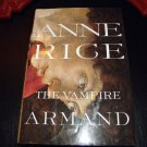The Vampire Armand by Anne Rice 1998 HCDJ