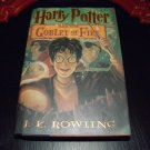 Harry Potter and the Goblet of Fire, TRUE 1st American Ed 1st Print
