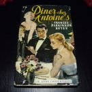 DINER chez ANTOINES Frances Parkinson Keyes French Version 1959