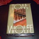 THE BONFIRE OF THE VANITIES Tom Wolff 1987 1st Ed 2nd Print HC DJ